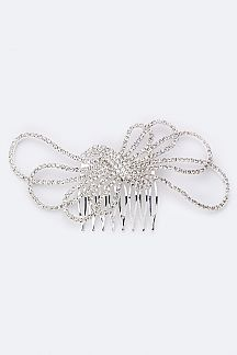 Crystal Bow Comb