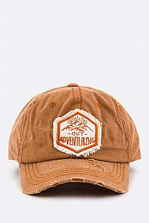 Out Adventuring Embroidery Cotton Cap