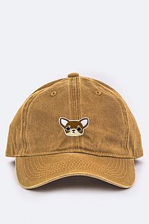 Todler Size Puppy Embroidery Cap