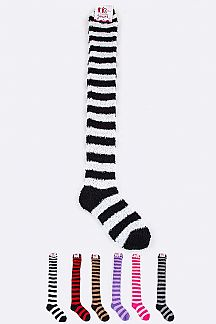 Assorted Winter High Socks