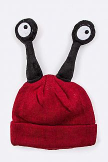 Kids Size Popping Eyes Beanie