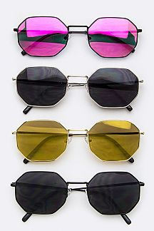90s Color Tinted Fashion Sunglasses