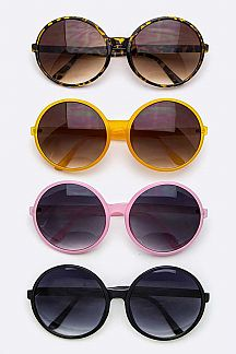 Oversized Round Fashion Sunglasse