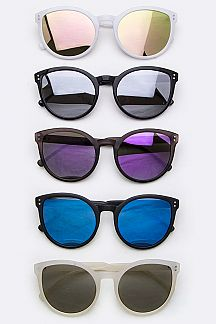 Iconic Color Tinted Cateye Sunglasses