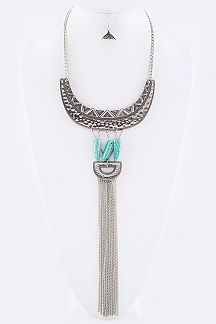 Urban Tribe Statement Necklacer Set