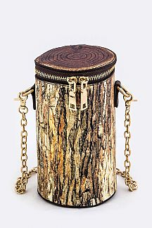 Tree Stump Crossbody Bag
