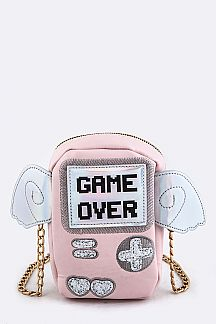 Portable Game Crossbody Bag
