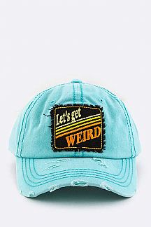 Stay Weird Vintage Cotton Cap