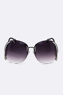 Crystal Ornate Iconic Butterfly Sunglasses