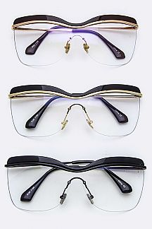 Iconic Optical Shield Glasses