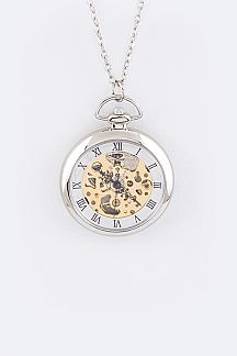 Automatic Fashion Pendant Watch