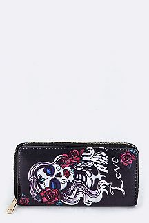 Mexican Death Art Print Wallet