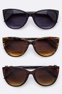 Crystal Temple Fashion Sunglasses