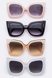 Iconic Angular Sunglasses