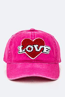 Plush LOVE Fashion Cap