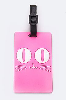 Cat Eyes Jelly Bag & Luggage Tag