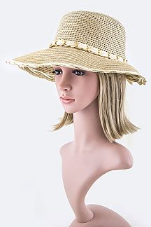 Iconic Layered Brim Fashion Summer Hat