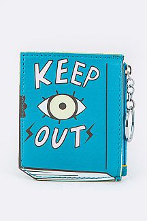Book Coin Purse