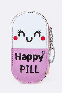 Happy Pill Coin Purse