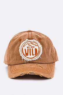 We Are Wild Vintage Cotton Cap