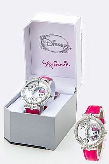 Crystal Charms Minnie Watch
