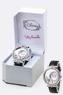 Enamel Charms Minnie Watch