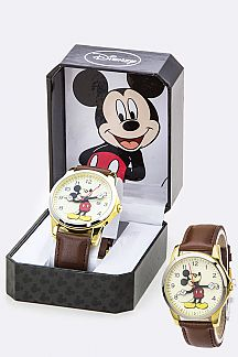 Classic Micky Crystal Watch
