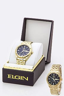 ELGIN Stretch Bracelet Watch