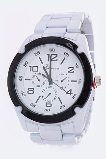 Unisex Fashion Chrono Watch