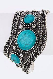 Paved Stone Open Cuff