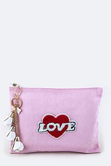 Plush LOVE Pouch