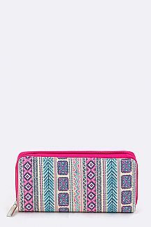 Tribal Pattern Wallet