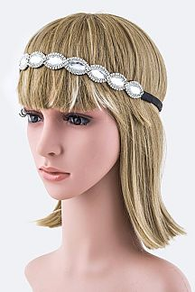 Crystals Iconic Stretch Headband