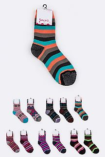 Assorted Winter Socks Set
