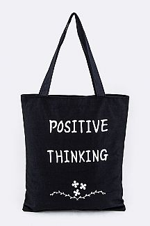 Positive Thinking Fashion Tote