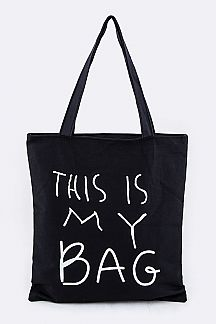 THIS IS MY BAG Fashion Tote