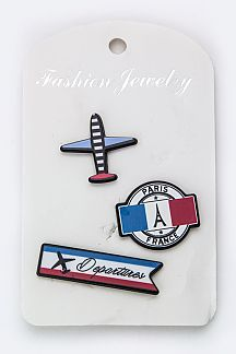 France Air Line Mix Pins