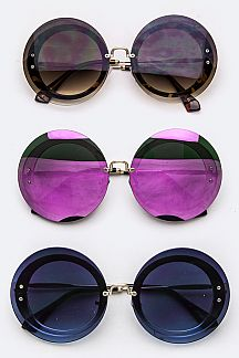 Iconic Oversized Round Sunglasses