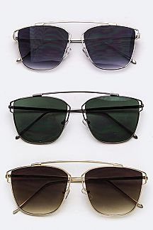 Top-Bar Square Sunglasses