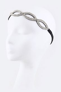 Rhinestones Stretch Headband