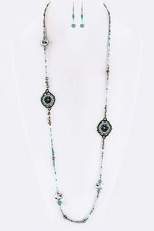 Mix Beads Necklace Set