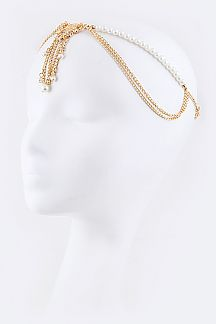 Layerd Pearls Iconic Head Chain