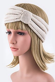 Turban Knot Stretch Headband