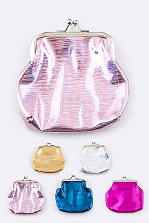 Assorted Metallic Coin Purses