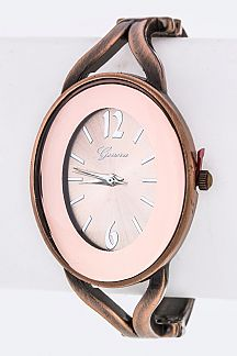 Oval Bangle Watch