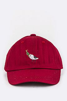 Kids Sized Bird Embroidery Cap