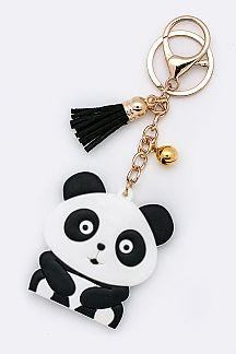 Jelly Panda Key Charm