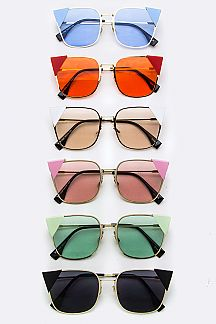 Pop Color Iconic Cat Eye Sunglasses