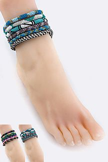 Nepal Roll On Anklet Set