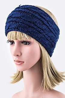 Chain Knit Stretch Headband
